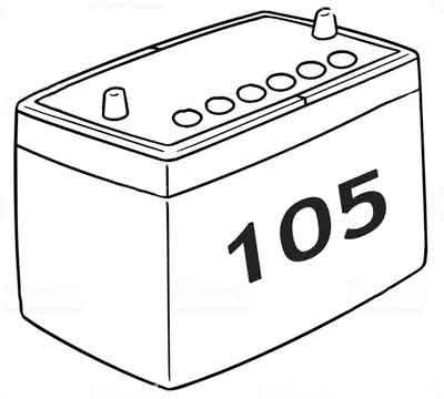 Аккумуляторы 105 а/ч