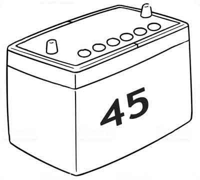 Аккумуляторы 45 а/ч