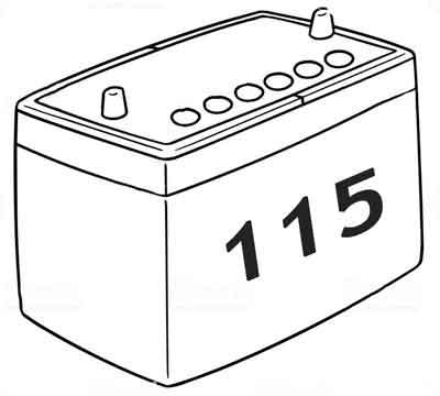 Аккумуляторы 115 а/ч